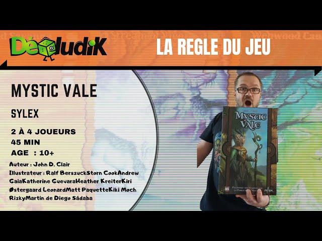 Mystic Vale - La règle du jeu et avis -  Sylex / AEG [deckbuilding]