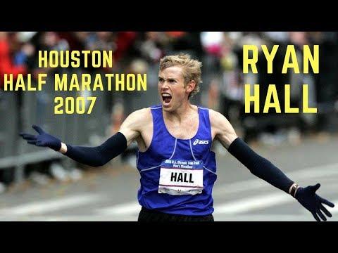 Ryan Hall: Houston Half Marathon 2007 (Rus Sub)