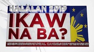 DZMM TeleRadyo: Ikaw Na Ba - Panayam ng DZMM sa mga nais magsenador   17 January 2019