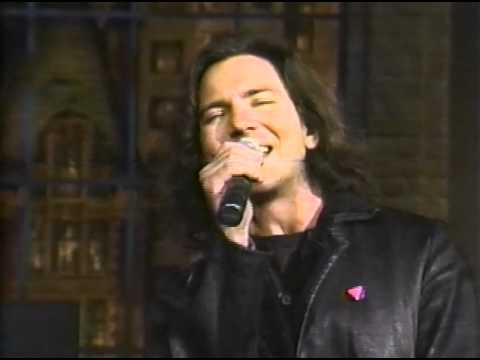 Eddie Vedder - Black - The Late Show with David Letterman ...