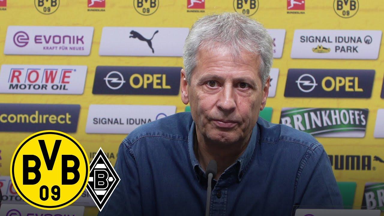 Pressekonferenz mit Lucien Favre & Michael Zorc | BVB - Borussia Mönchengladbach
