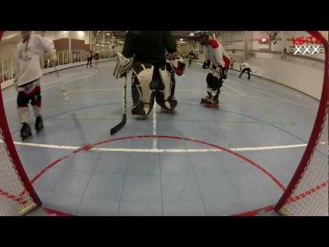 Goalie In Net Cam NYE Ironman Tournament