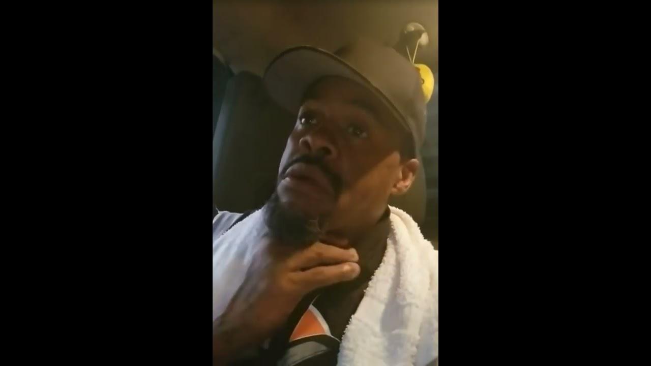 White cop pulls Black cop (Michael Lawrence)