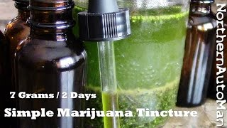 "Marijuana Tincture - For Beginners - Part 1  ""Green Dragon"""