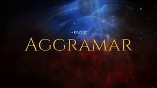 World Of Warcraft   Affliction Warlock 🆚 Aggramar Heroic Mode (Legion FireStorm 7.3.5 PVE POV)