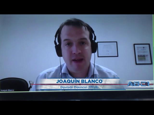 (Adelanto) Joaquin Blanco, Diputado provincial FPCyS - ABC1 07 09 2020