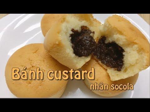 Cách làm BÁNH CUSTARD nhân SOCOLA mềm mịn thơm ngon – CHOCOLATES CHOCOLATES CUSTARD recipe