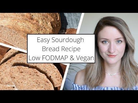Easy Low FODMAP Sourdough Bread Recipe �� VEGAN