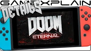 NEW Doom Eternal Switch Details! Panic Button Developing, Same Day Launch, & 30fps