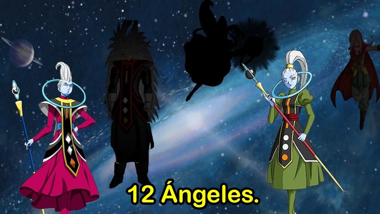 Download Los legendarios 12 ÁNGELES del Universo Dragon Ball | Dash Aniston | Hipótesis