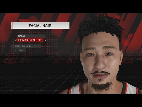 NBA 2K18 - ALL HAIRSTYLES AND FACIAL HAIR IN THE GAME!! (Preview Them Here Before Buying)