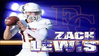 Zach Lewis '18 : Eastside Catholic High (WA) Sopho
