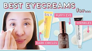 How to Find Eye Creams &amp Serums To Reduce Dark Circles, Puffiness &amp Fine Lines!