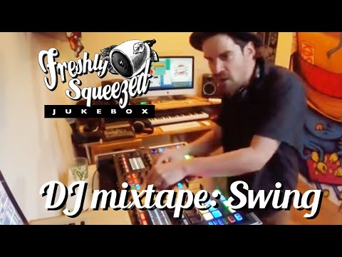 Electro Swing DJ mix : LIVE ( VIDEO ) K.D.S - 'Freshly Mixed' non-stop mixtape