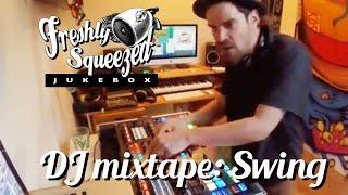 1 hr Electro SWING DJ mix : LIVE ( VIDEO ) K.D.S non-stop mixtape