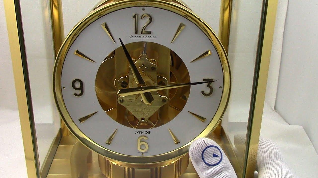 clock atmos le Jaeger vintage coultre