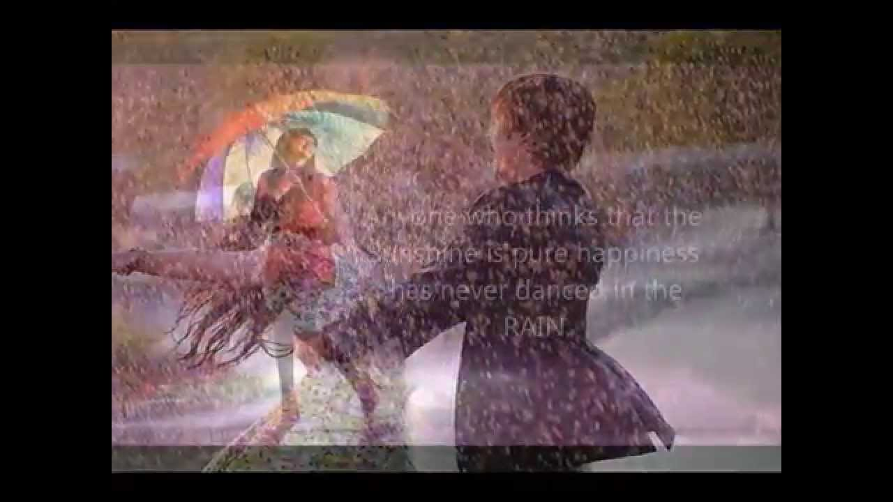 Life Love Quotes Rain Wallpapers Video Youtube