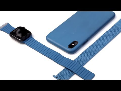 Cape Cod Blue is the BEST Apple Watch Band and iPhone Xs Case Color !