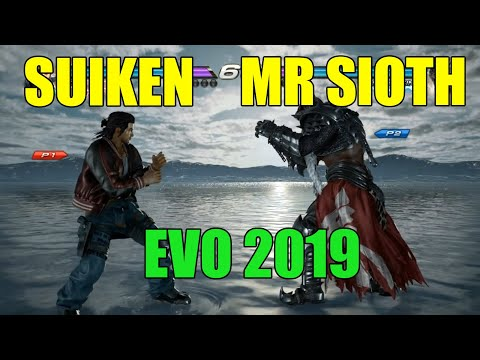 TEKKEN 7 SUIKEN VS MR SLOTH EVO 2019