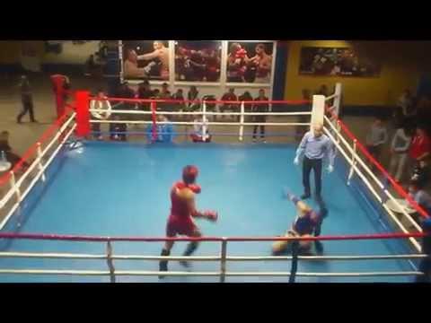 71 kg_Bekzhan Matysaev vs Chubak Turaliev. IFMA Kyrgyz Muaythai Champ 2014.