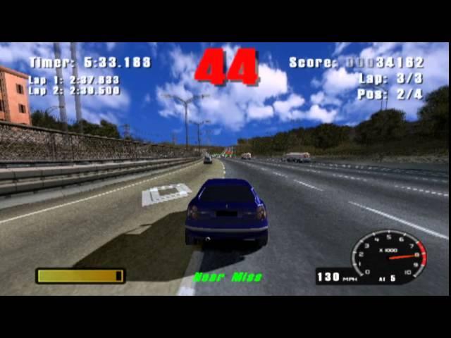 Burnout (PS2 Gameplay)