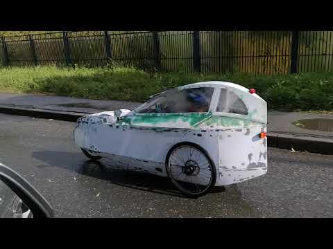 Веломобиль СТРИЖ тест / SWIFT Velomobile City Test