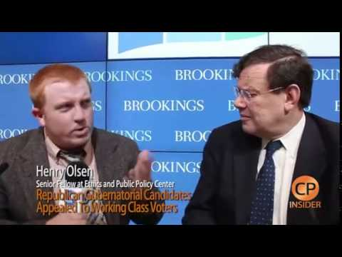 Henry Olsen Discusses Why More White Working Class Voters Supported Republican Candidates in 2014