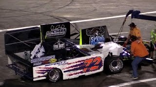 300 Lap Outlaw Figure 8 Race at Orange Show Speedway 2016