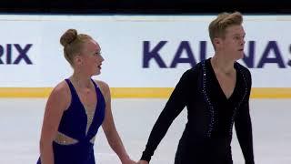 Stairs Ashlynne/Graham Elliott Канада | ISU Гран При (юниоры) 2018 Каунас | Ритм танец Танцы на льду