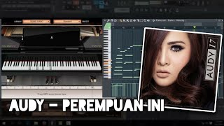 Download Mp3 Audy - Perempuan Ini  Karaoke  Fl Studio