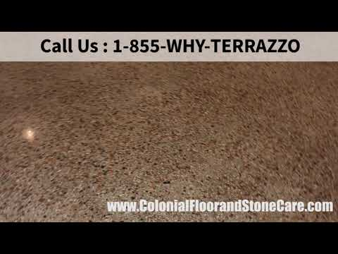 How do You Clean and Restore Terrazzo Services in Palm Beach?
