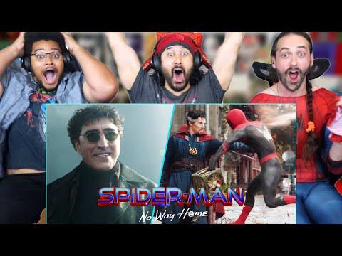 SPIDER-MAN NO WAY HOME TEASER TRAILER - REACTION!! (Marvel Studios' Official | Breakdown)