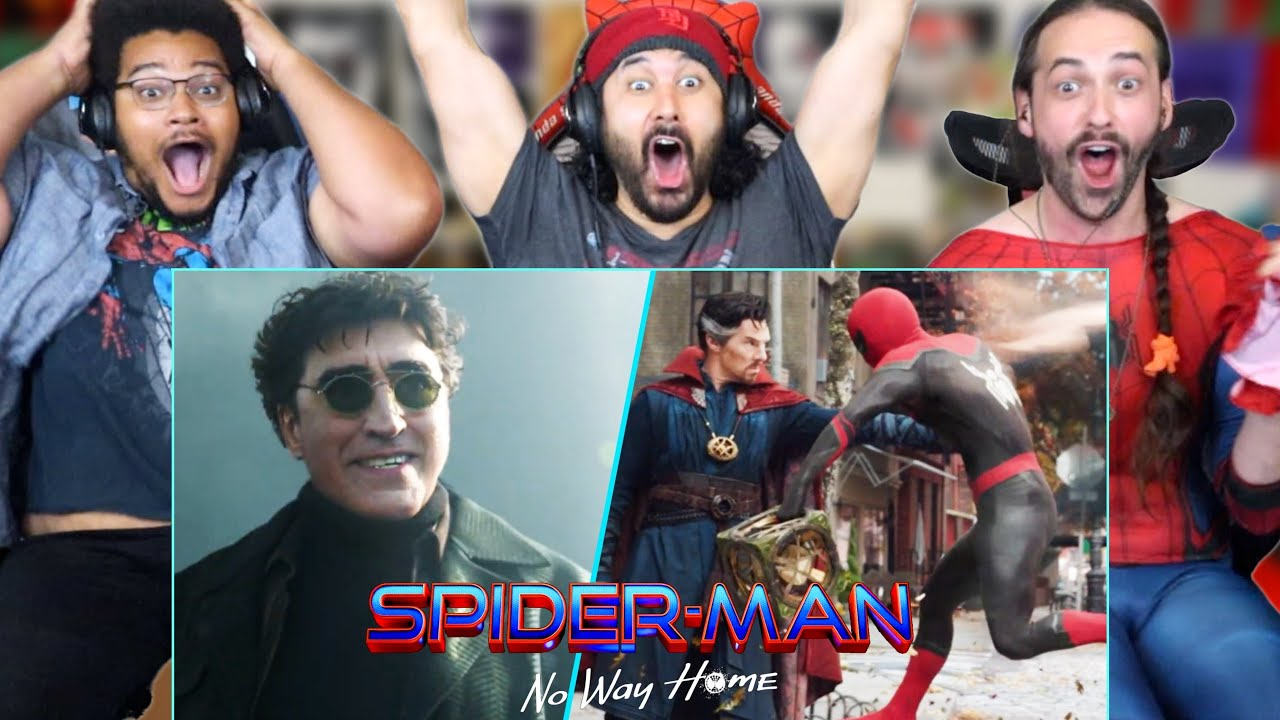 Download SPIDER-MAN NO WAY HOME TEASER TRAILER - REACTION!! (Marvel Breakdown | Green Goblin | Doc Ock)