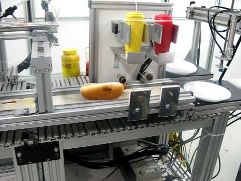 automatic hotdog machine youtube. Black Bedroom Furniture Sets. Home Design Ideas