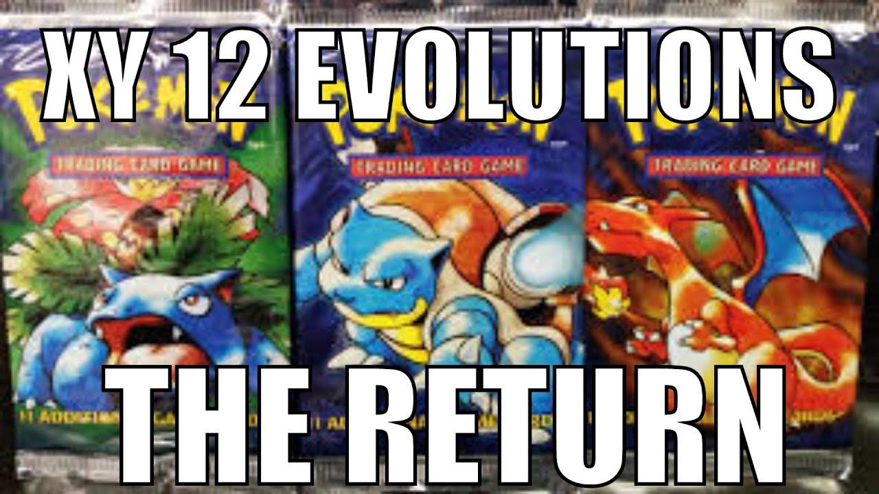 Pokemon tcg xy 12 evolutions set announced youtube - Evolution pokemon xy ...