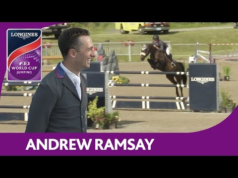 1st: Andrew Ramsay | Longines FEI World Cup™ Jumping 2016/17 | Bromont (CAN)