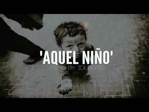"""Aquel Niño"" - HIP HOP INSTRUMENTAL TRISTE (Piano) IduBeats"