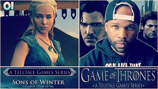 Game of Thrones Walkthrough Episode 4 - Part 1 - Khaleesi! (Telltale Games Gameplay)