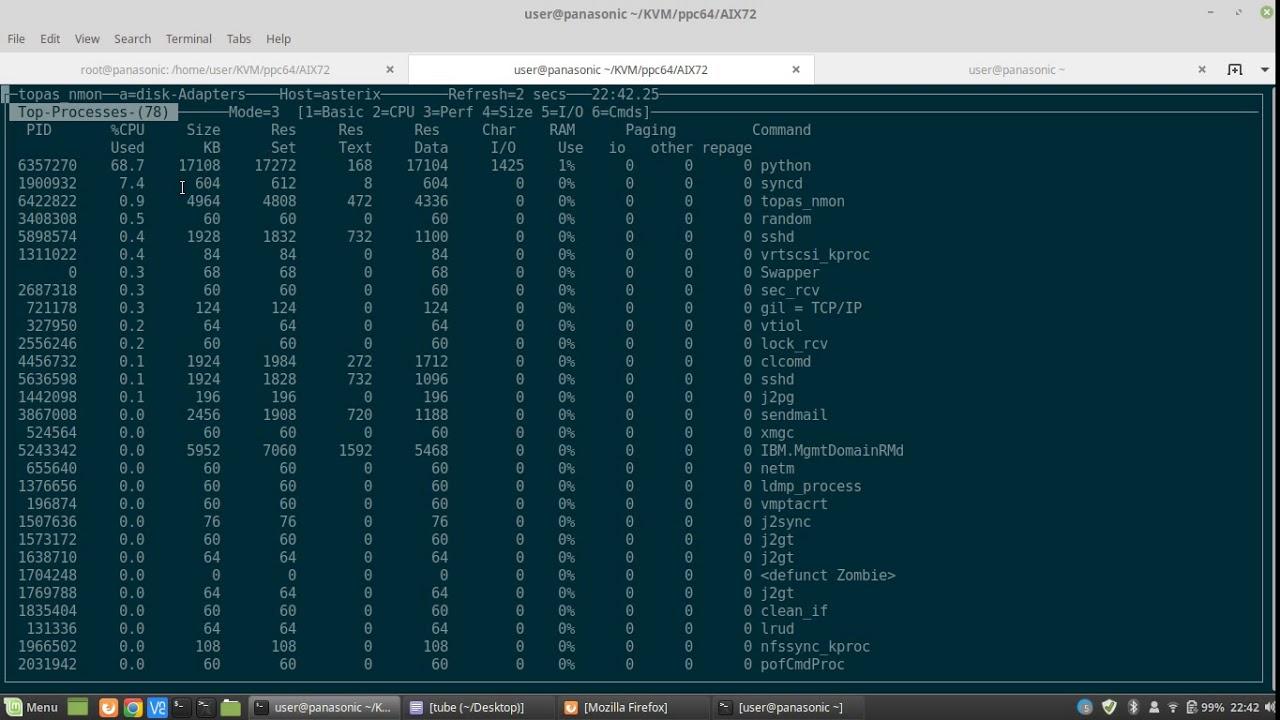 Running AIX 7 2 TL3SP1 on x86_64 via qemu-system-ppc64