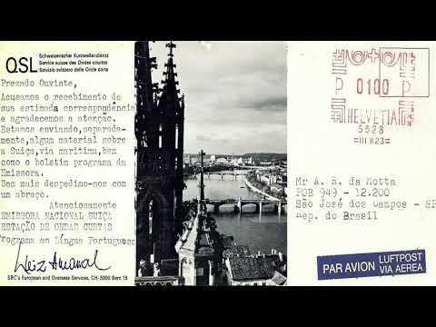 SRI Suiss Radio International - Bern (Switzerland) - Spanish, French, Italian and German - 1977