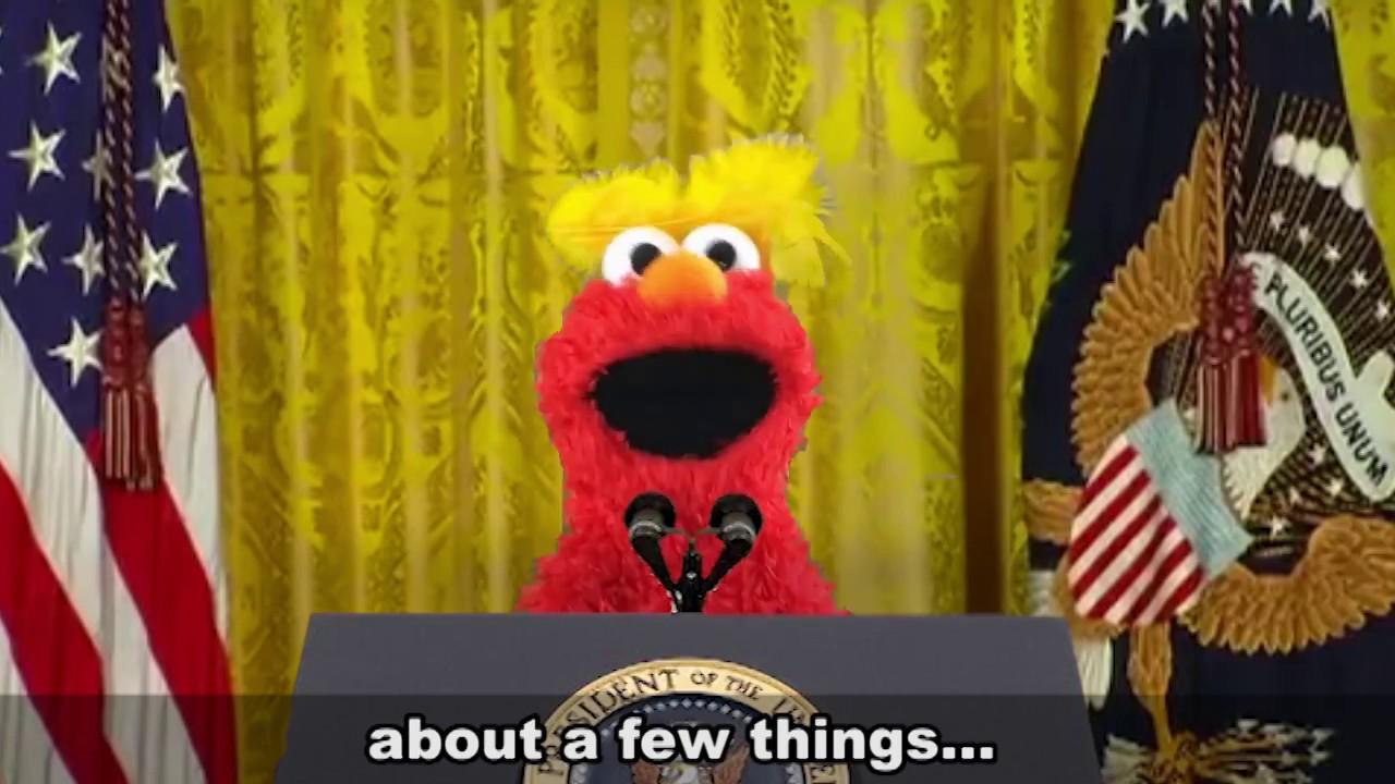 Elmo As Donald Trump Youtube