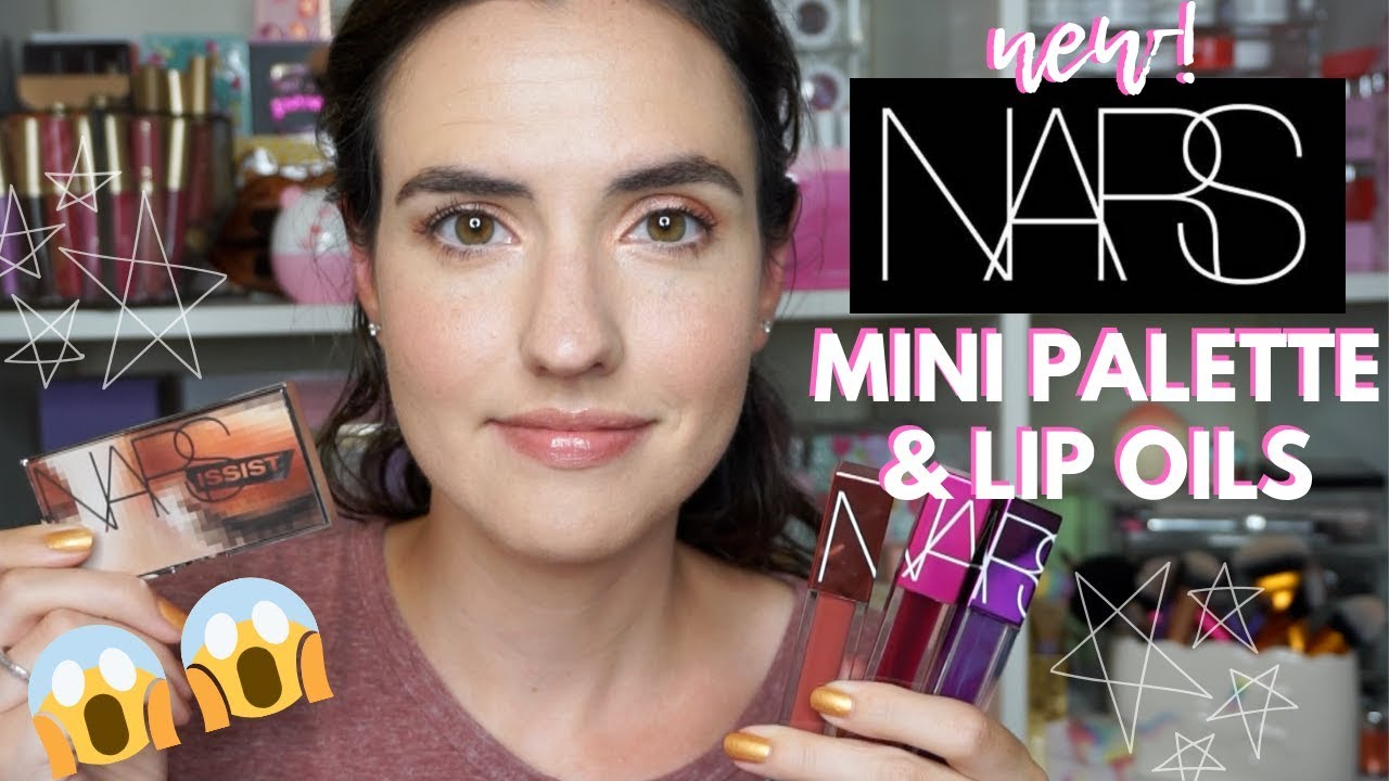 Nars Mini Wanted Eyeshadow Palette Lip Tints Swatches Tutorial Youtube