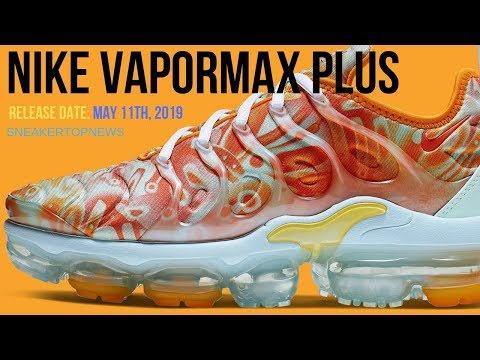 Nike Is Dropping A Vapormax Plus With Dip Dyed Patterns