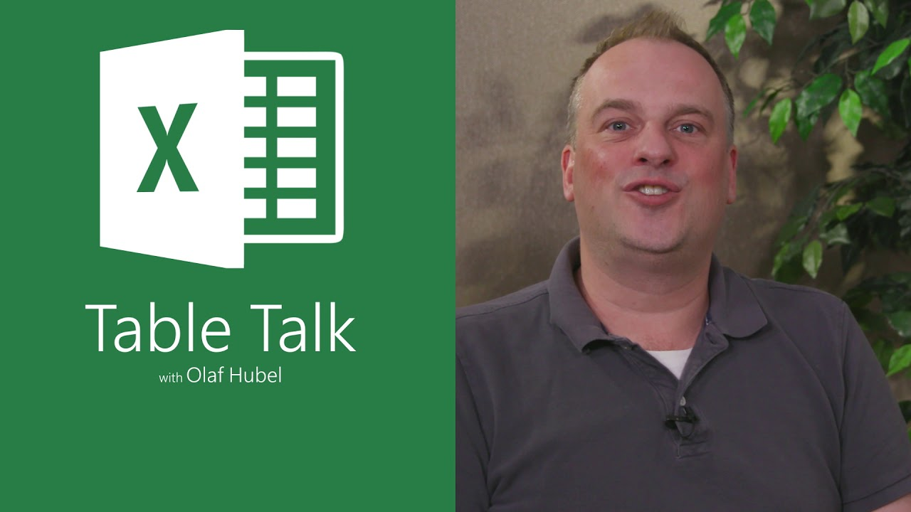Excel Table Talk Trailer