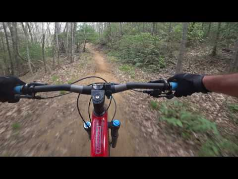 Dupont Forest Mountain Biking April 20, 2017