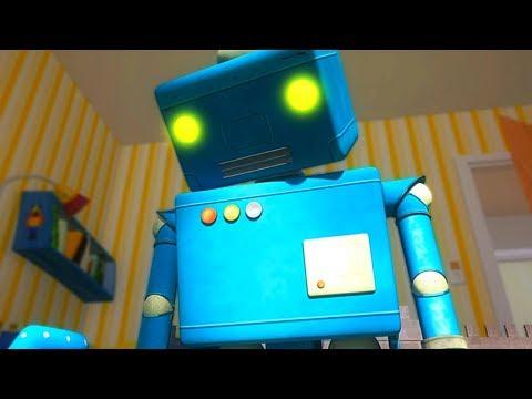 Мультики - ЙоНаЛу - Робот сошел с ума! - Развивающие песни для детей