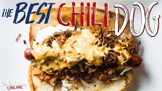 The Best Chili Dog Recipe   SAM THE COOKING GUY