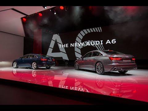 Audi Pressekonferenz von der Messe Genf 2018