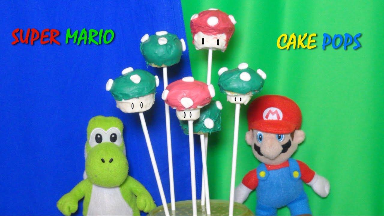Super Mario Bros Cake Pops Recipe Video By Bhavna No Cake Pop