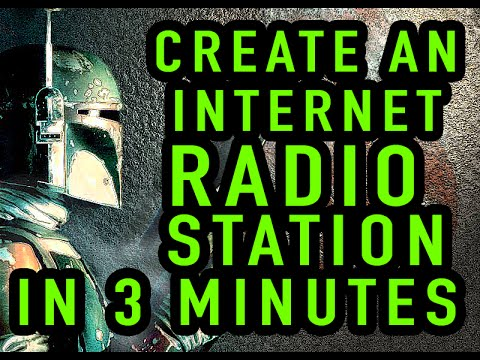 Create a Free Internet Radio Station in 3 Minutes